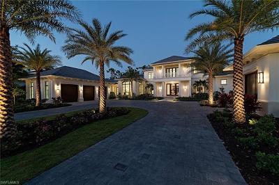 Naples FL Single Family Home For Sale: $6,995,000
