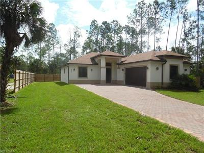 Naples FL Single Family Home For Sale: $319,900