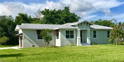 Naples Single Family Home For Sale: 2216 Jackson Ave