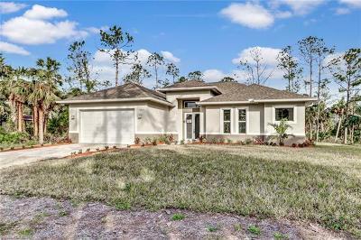 Naples Single Family Home For Sale: 1618 NE 8th St