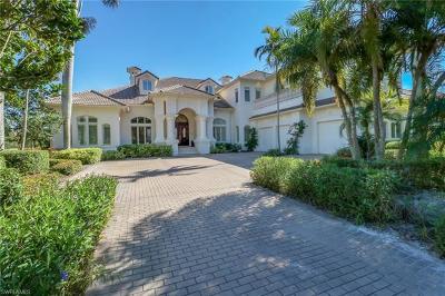 Naples FL Single Family Home For Sale: $3,495,000