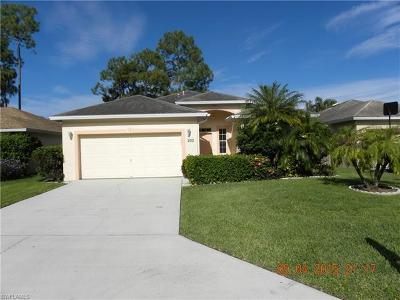 Naples FL Single Family Home For Sale: $340,000