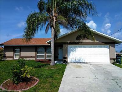 Cape Coral Single Family Home For Sale: 2121 NW 9th Ave