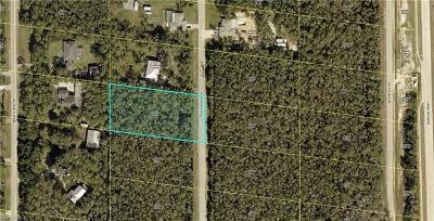 Bonita Springs Residential Lots & Land For Sale: 24300 Roger Dodger St