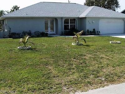 Cape Coral Single Family Home For Sale: 234 SW 37th St