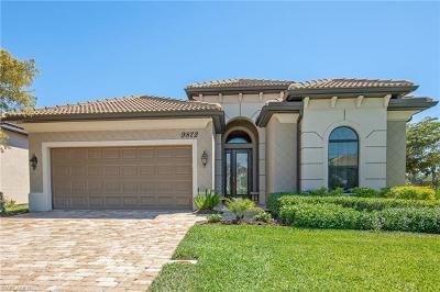 Bonita Springs Single Family Home For Sale: 9872 Alhambra Ln