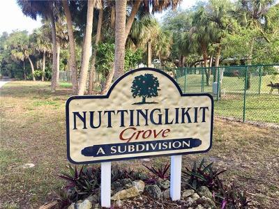 Bonita Springs Residential Lots & Land For Sale: 27325 Valencia Dr