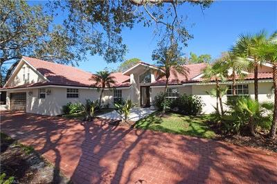 Naples Single Family Home For Sale: 174 S Edgemere Way