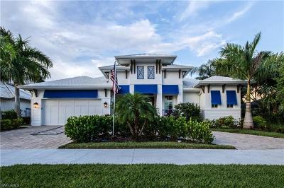Marco Island Single Family Home For Sale: 245 N Barfield Dr