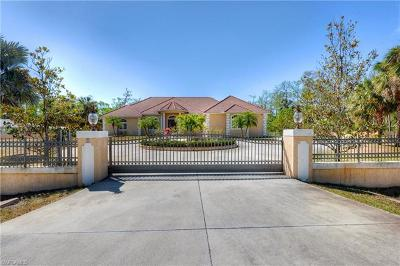 Golden Gate Estates Single Family Home For Sale: 4244 NW 1st Ave