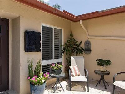 Naples Single Family Home For Sale: 31 Glades Blvd #2