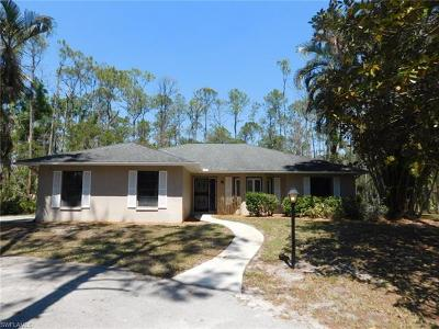 Naples Single Family Home For Sale: 3311 SW 25th Ave