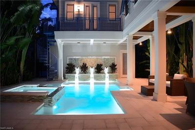 Naples FL Single Family Home For Sale: $3,845,000