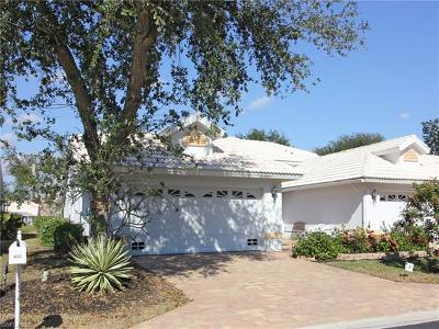 Naples Single Family Home For Sale: 653 Captn Kate Ct #52