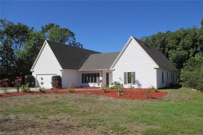 Naples FL Single Family Home For Sale: $519,900