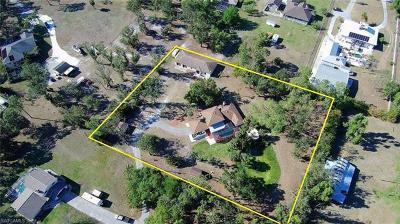 Cape Coral Single Family Home For Sale: 17220 Pleasure Rd