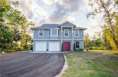 Golden Gate Estates Single Family Home For Sale: 911 SW 17th St