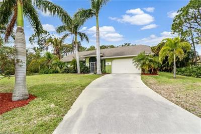 Bonita Springs Single Family Home For Sale: 24680 Paradise Rd