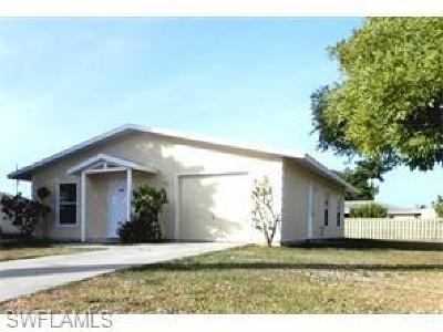 Cape Coral Single Family Home For Sale: 616 Santa Barbara Blvd