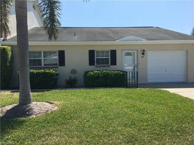 Fort Myers Single Family Home For Sale: 1300 Myerlee Country Club Blvd #4