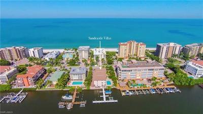 Naples Condo/Townhouse For Sale: 9524 Gulf Shore Dr #1