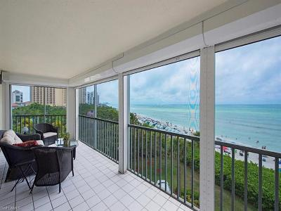 Collier County Condo/Townhouse For Sale: 9051 Gulf Shore Dr #401