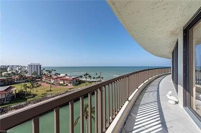 Condo/Townhouse For Sale: 2338 N Gulf Shore Blvd #904