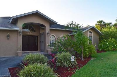 Golden Gate Estates Single Family Home For Sale: 430 NW 17th St