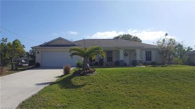 Cape Coral Single Family Home For Sale: 4229 NE 20th Pl