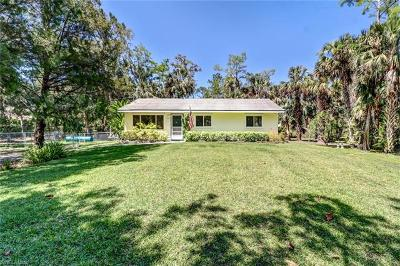Naples Single Family Home For Sale: 441 NW 20th Ave