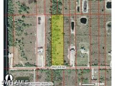 Naples Residential Lots & Land For Sale: 4045 NE 22nd Ave