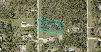 Bonita Springs Residential Lots & Land For Sale: 24345 Stillwell Pky