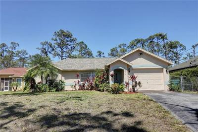 Golden Gate Estates Single Family Home For Sale: 4545 NE 16th St