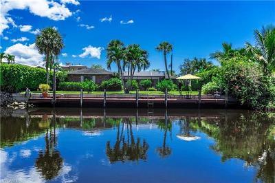 Naples Single Family Home For Sale: 1525 Osprey Ave