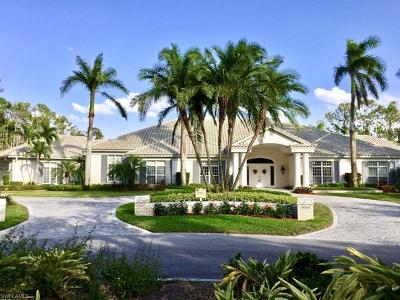 Naples Single Family Home For Sale: 13342 Rosewood Ln
