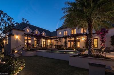 Naples Single Family Home For Sale: 2550 Lantern Ln