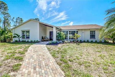 Golden Gate Estates Single Family Home For Sale: 631 SW 31st St