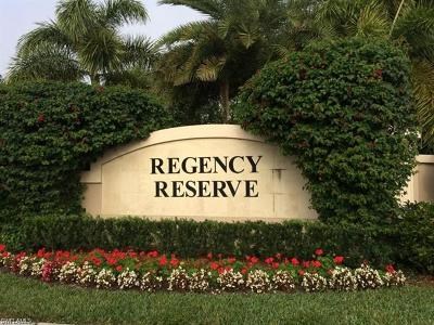 Naples Condo/Townhouse For Sale: 717 Regency Reserve Cir #5803