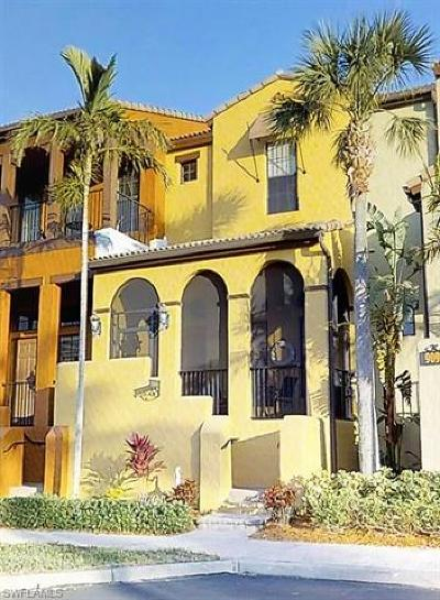 Naples Condo/Townhouse For Sale: 9098 S Capistrano St #7109