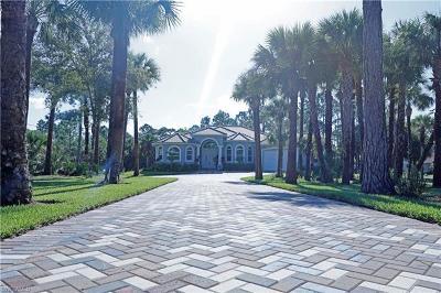 Naples Single Family Home For Sale: 690 S Wilson Blvd