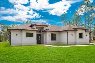 Golden Gate Estates Single Family Home For Sale: 4504 NE 16th St