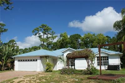 Bonita Springs Single Family Home For Sale: 3450 Cartwright Ct