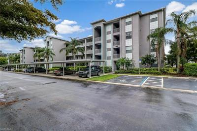 Fort Myers Condo/Townhouse For Sale: 16655 Lake Circle Dr #827