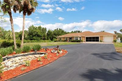Golden Gate Estates Single Family Home For Sale: 3660 SE 20th Ave