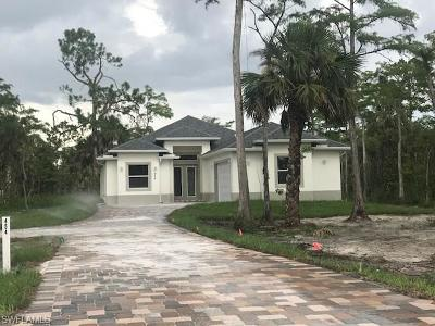 Naples Single Family Home For Sale: 454 SW 19th St