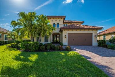 Naples Single Family Home For Sale: 12448 Wisteria Dr