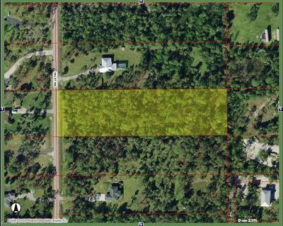 Naples Residential Lots & Land For Sale: SW 19th St