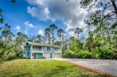 Naples Single Family Home For Sale: 3540 SW 17th Ave