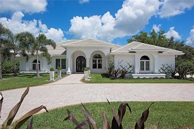 Naples FL Single Family Home For Sale: $3,950,000