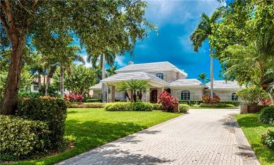 Naples FL Single Family Home For Sale: $8,400,000
